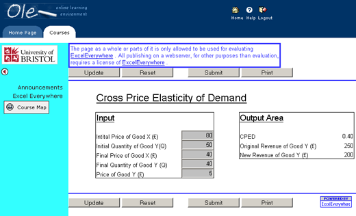 Low cost, low-tech online simulations with Excel | The